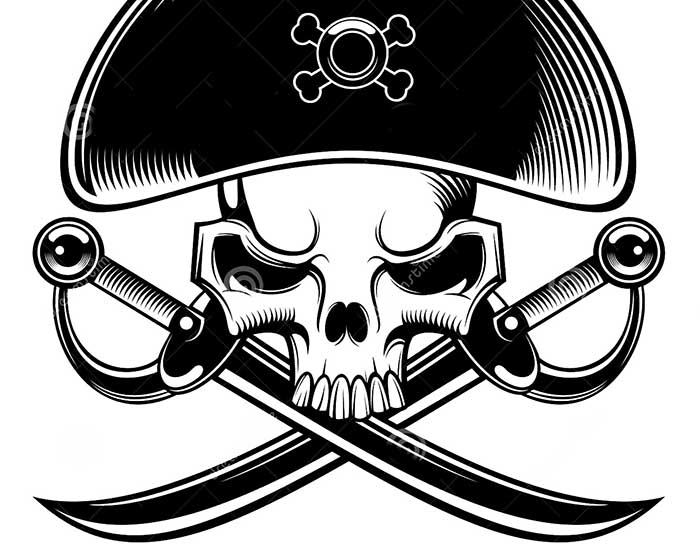 картинки для детей пират