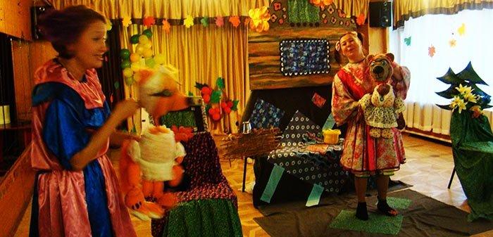 сценарий театрализованного представления для детей