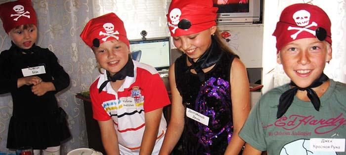 пиратская вечеринка дома