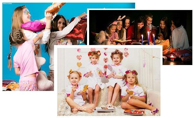 фото проведения пижамной вечеринки для девочек: пижамная вечеринка для девочек