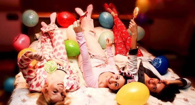 пижамная вечеринка для взрослых