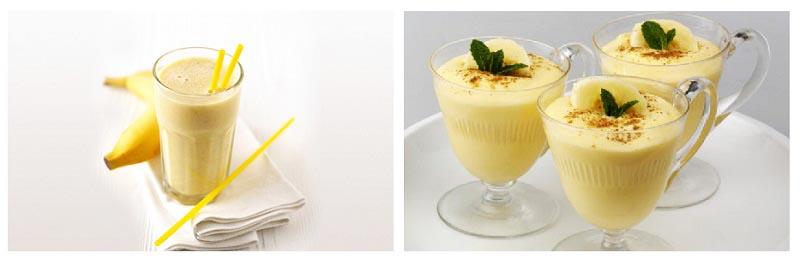фото бананово-медового коктейля: меню для пижамной вечеринки