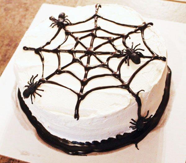 фото торта на хэллоуин: сладкое оформление хэллоуина