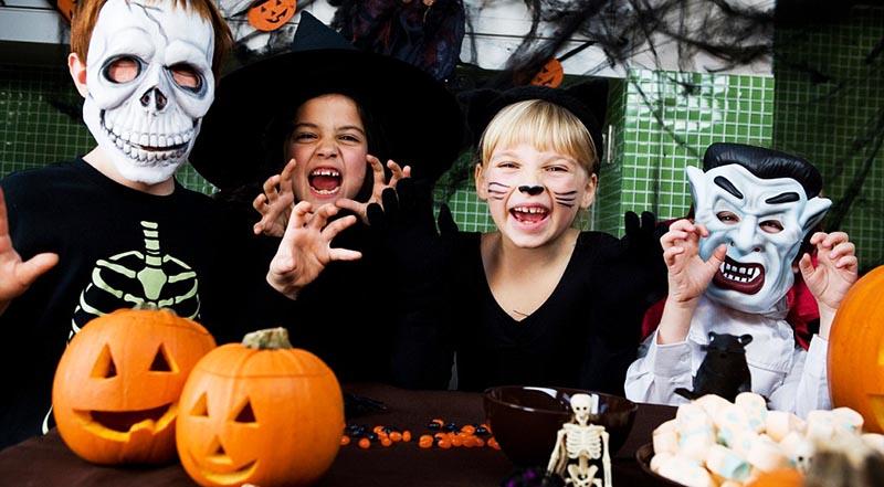 фото детей одетых на хэллоуин: сценарий хэллоуина