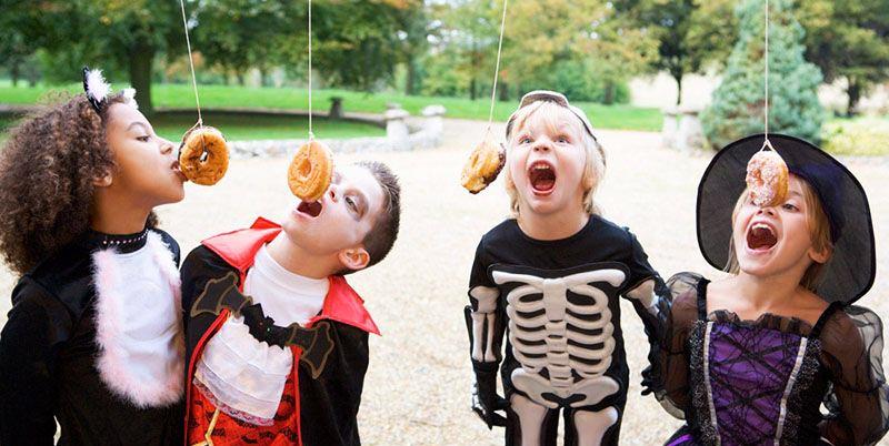 фото сладкоежек: сценарий хэллоуина