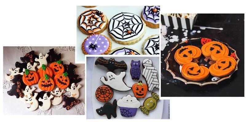 фото печенья к хэлловину: сладкое оформление хэллоуина