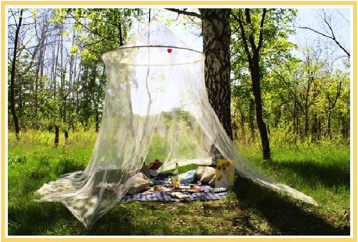 фото шатра для отдыха на природе: день рождения на природе оформление