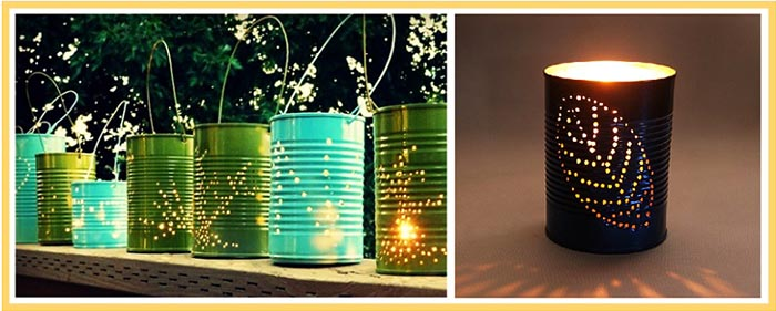 фото фонариков для отдыха на природе: день рождения на природе оформление №2