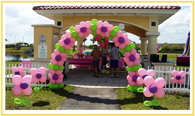 фото арки из воздушных шаров на юбилей: оформление юбилея шарами №6