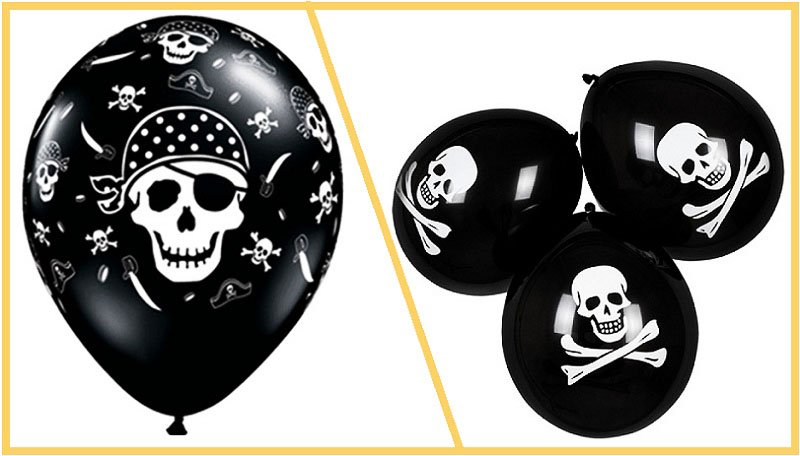 фото воздушных шаров на пиратскую вечеринку: пиратская вечеринка оформление