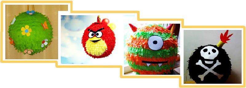 фото разных видов пиньяты: пиньята на детский день рождения №2