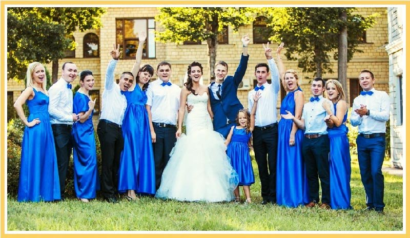 Вечеринка в синем цвете