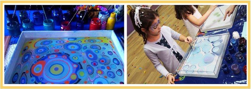 фото детей рисующих эбру: мастер-класс эбру на детский праздник