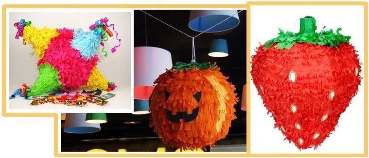 фото разных видов пиньяты: пиньята на детский день рождения
