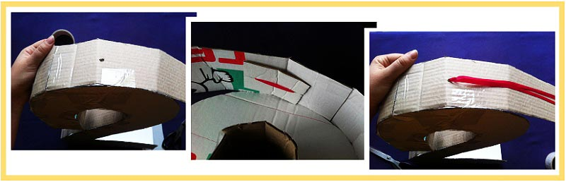 """фото мастер-класса по созданию пиньяты в форме цифры """"2"""": пиньята как сделать своими руками №5"""