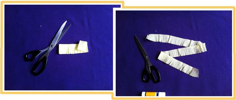 """фото мастер-класса по созданию пиньяты в форме цифры """"2"""": пиньята как сделать своими руками №8"""