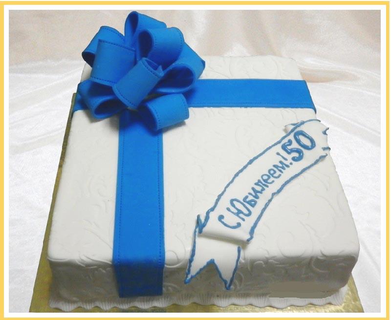 фото вариантов оформления классического торта: оформление тортов на юбилей №3