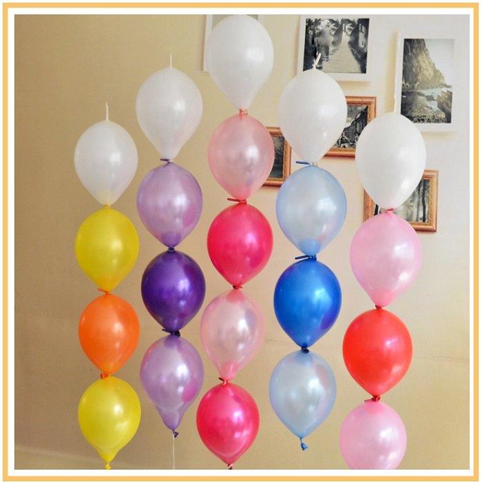 оформление шарами детского дня рождения №11