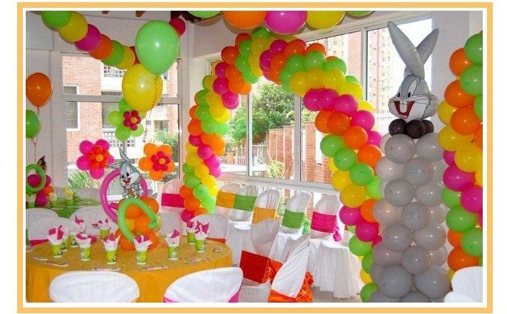 оформление шарами детского дня рождения №19