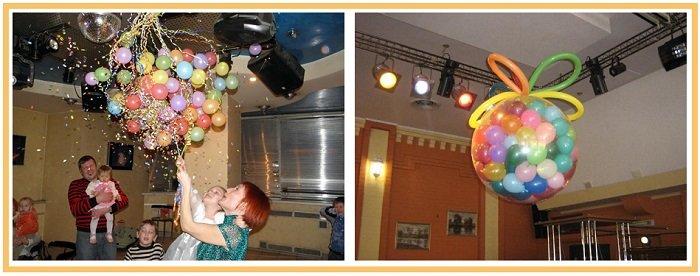 оформление шарами детского дня рождения №21
