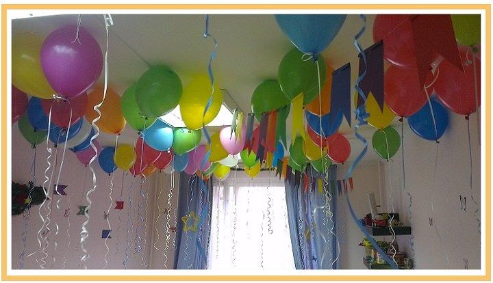 оформление шарами детского дня рождения №3