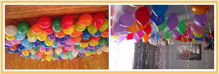 оформление шарами детского дня рождения №4
