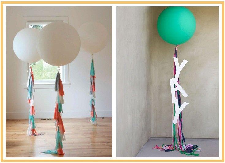 оформление шарами детского дня рождения №6