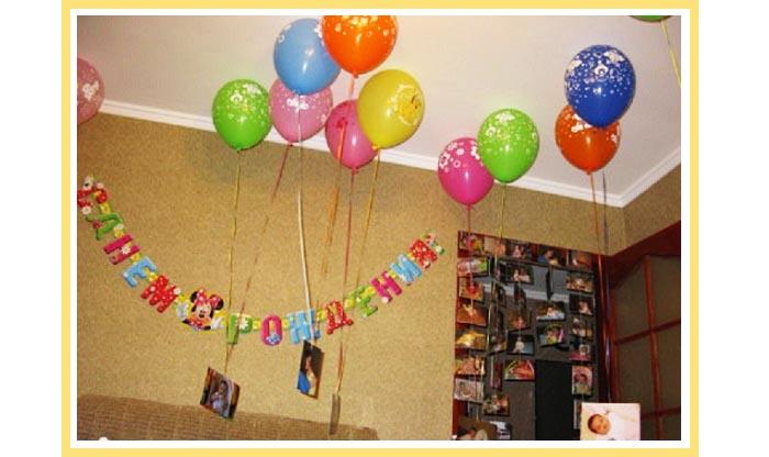 оформление шарами детского дня рождения №7