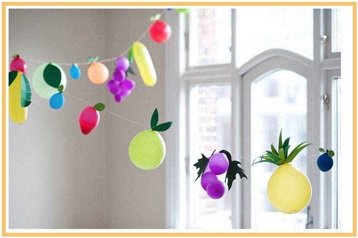 оформление шарами детского дня рождения №8