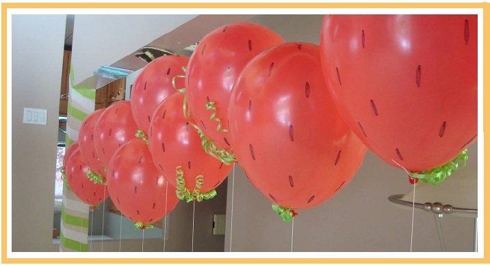 оформление шарами детского дня рождения №9