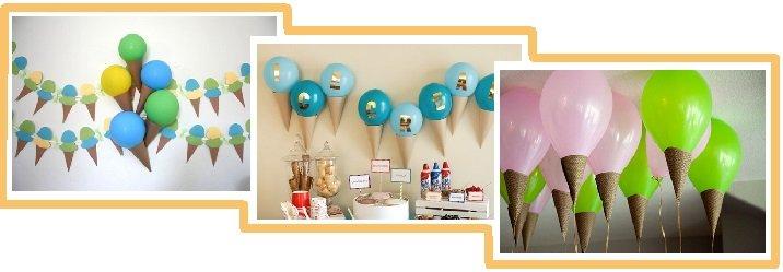 оформление шарами детского дня рождения №10