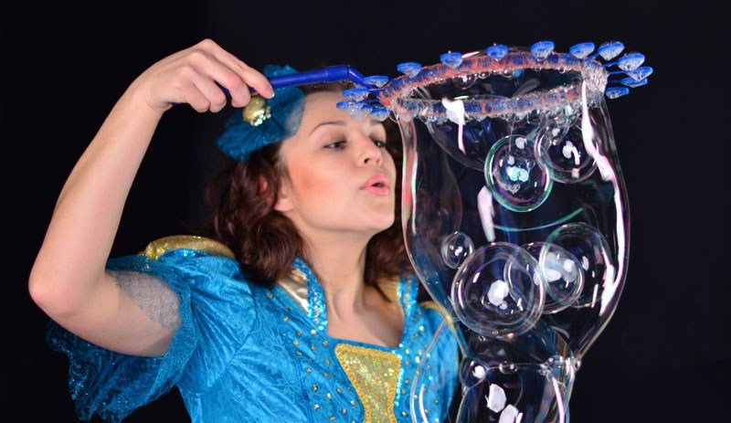 Программа мыльных пузырей